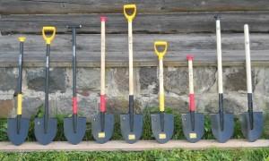 Лопата, ее виды, конструкция, характеристики и выбор