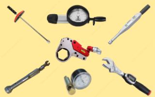 Динамометрический ключ. Назначение, устройство, характеристики и типы