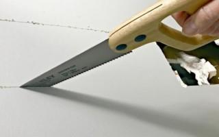 Какой нужен инструмент для резки гипсокартона