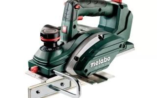 Электрорубанок «Metabo» обзор
