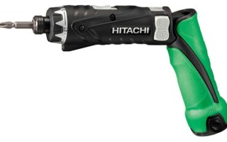 Аккумуляторная отвертка «Hitachi» обзор