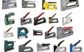 Строительный степлер. Назначение, виды и характеристики