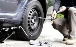 Какой нужен инструмент для откручивания автомобильных колес?