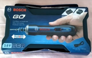 Аккумуляторная отвертка «Bosch Go». Обзор, комплектация и тестирование