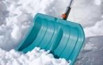 Снеговая лопата. Назначение, характеристики, виды и выбор