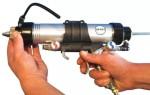 Пистолет для герметика. Назначение, характеристики, виды и выбор