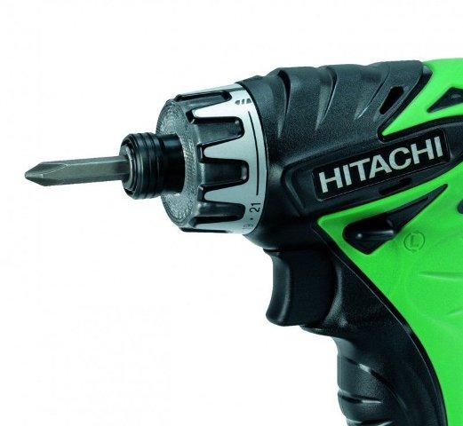 "Аккумуляторная отвертка ""Hitachi"" патрон"