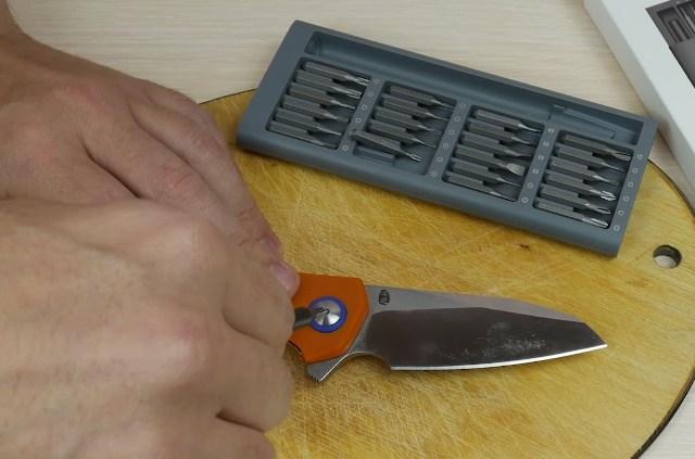 Разбираем нож