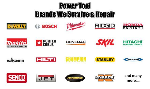 Логотипы брендов электроинструмента