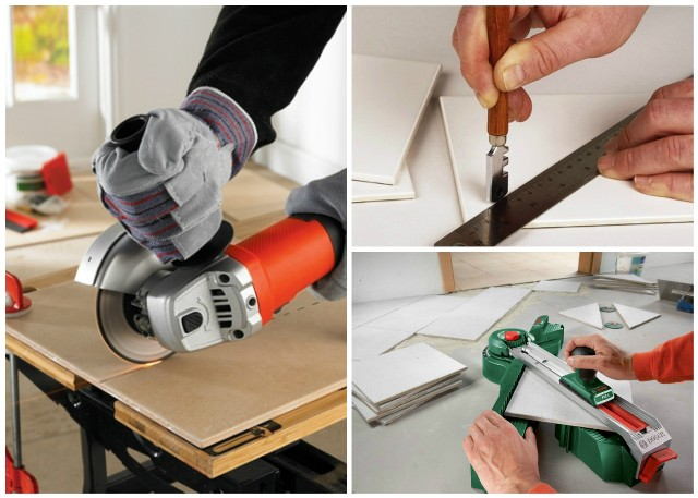 Инструменты для резки кафеля