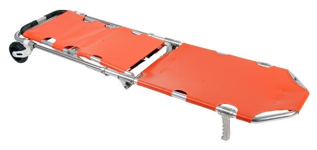 Полевой вариант носилок на колесиках