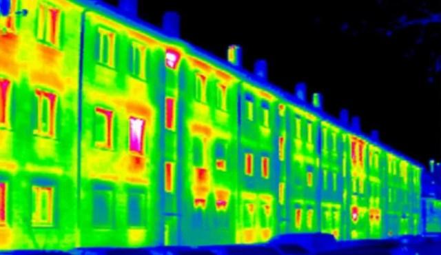 Замер теплопотерь у здания
