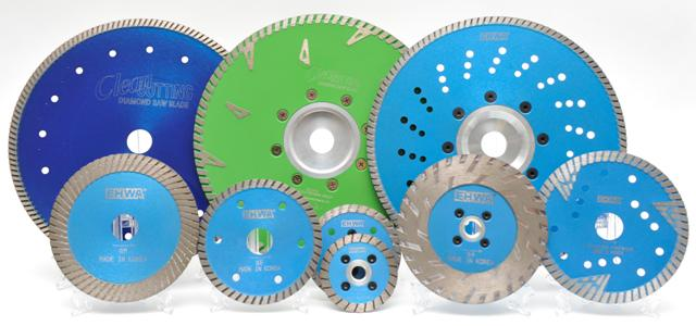 Алмазные диски в ассортименте