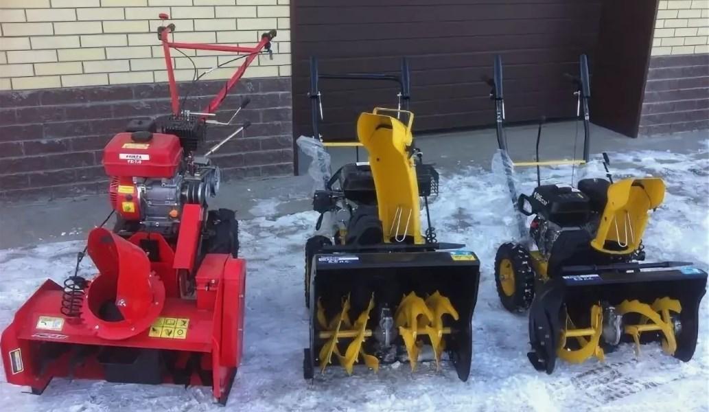 Снегоуборочные агрегаты
