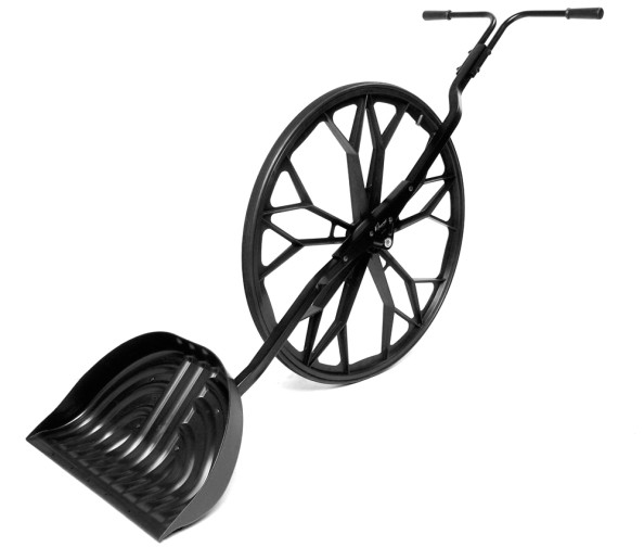 Ковш с одним колесом