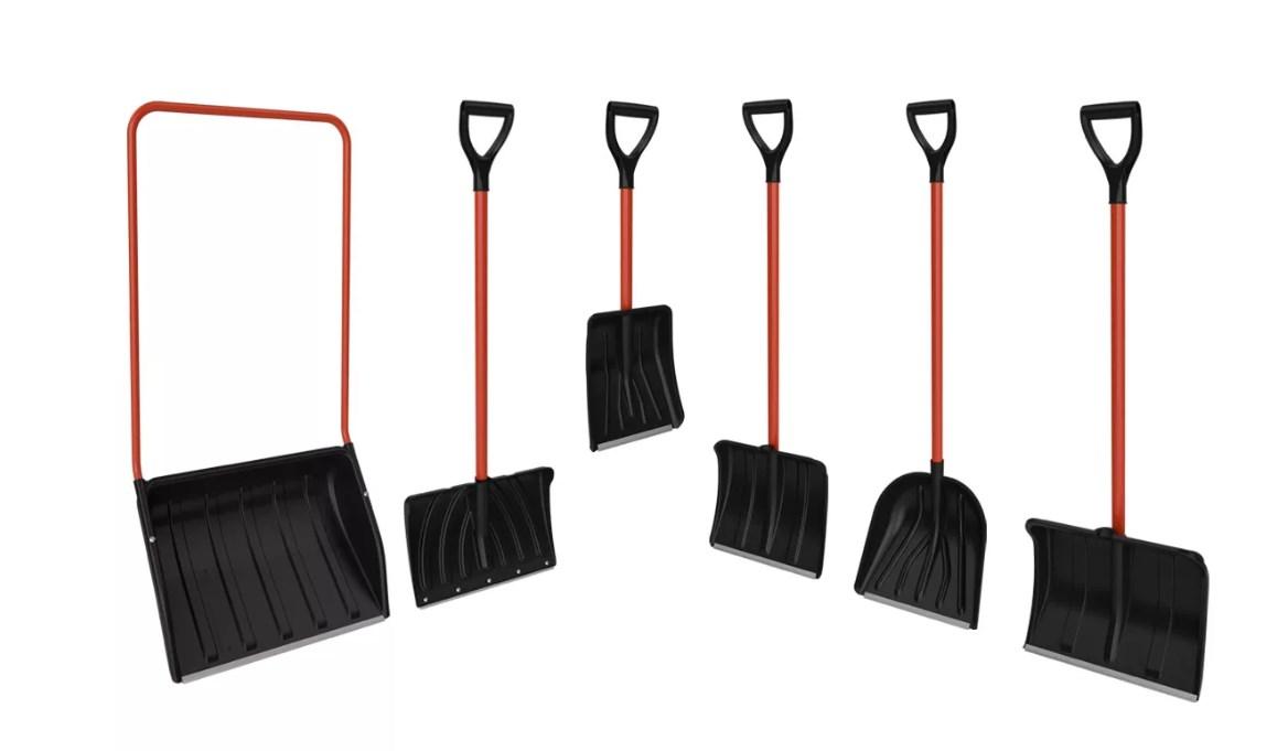 Выбор снеговой лопаты