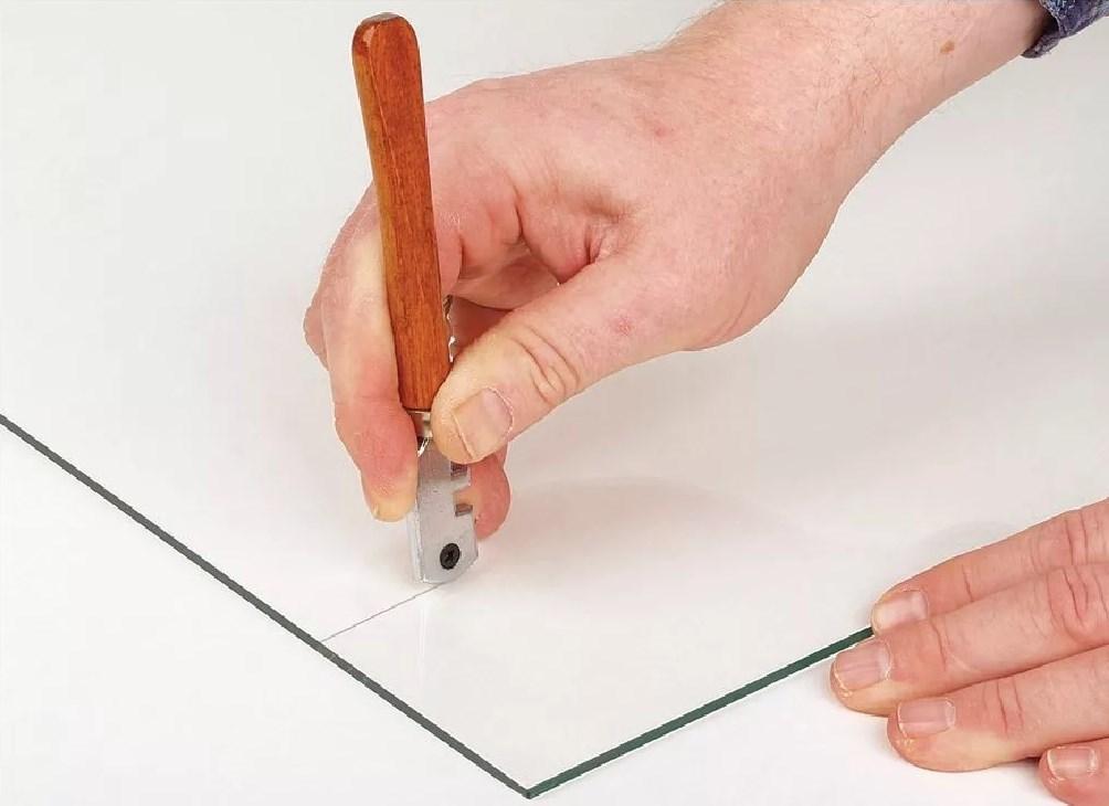 Пример реза стекла