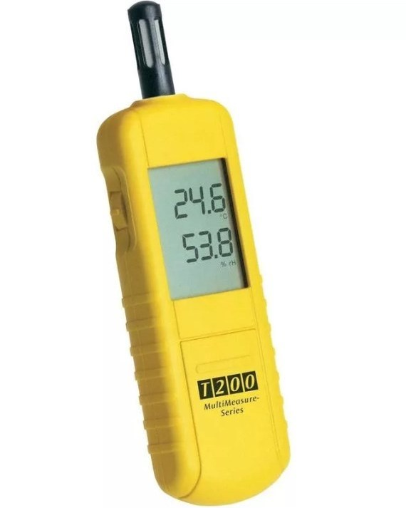 Бесконтактное устройство для измерения влаги в воздухе