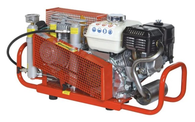 Бензиновый компрессорный агрегат