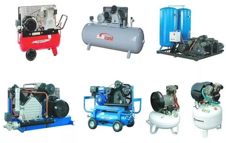 Разные виды компрессорных устройств