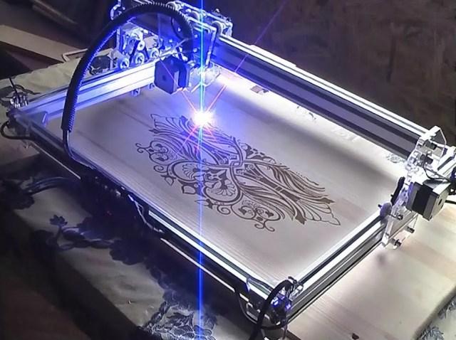 Лазерная модель