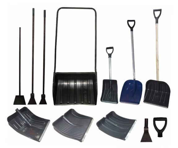 Ручной инструмент для уборки снега и льда