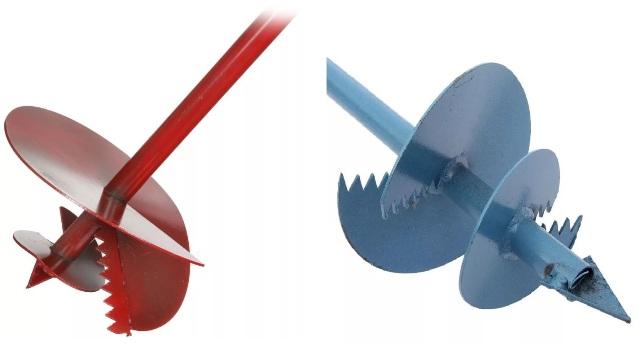 Ножи садового ямобура