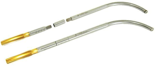 Пример составного инструмента с изогнутым хвостовиком
