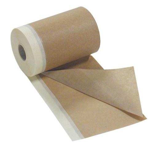 Защитная бумага с малярной лентой