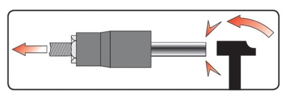 Пример работы внешнего экстрактора